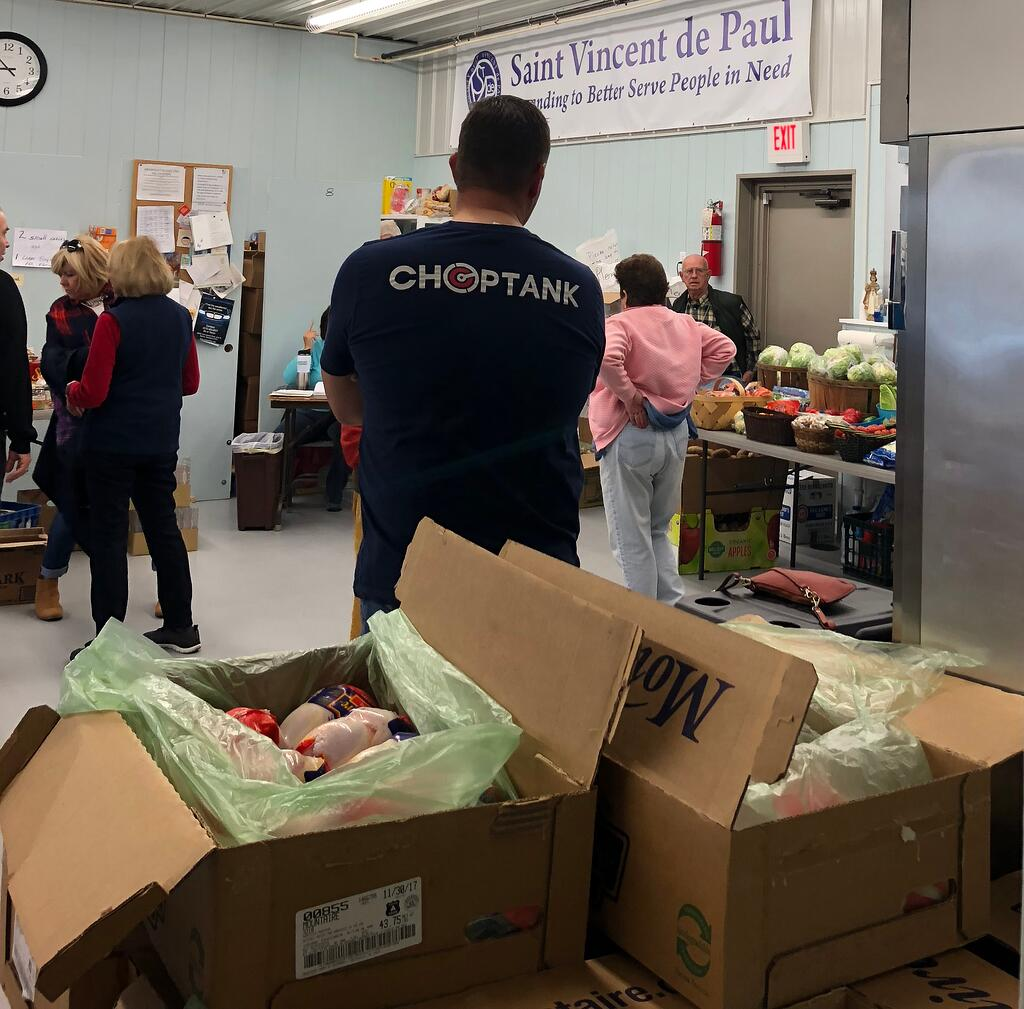 Choptank donating Thanksgiving dinners to St. Vincent de Paul.jpg