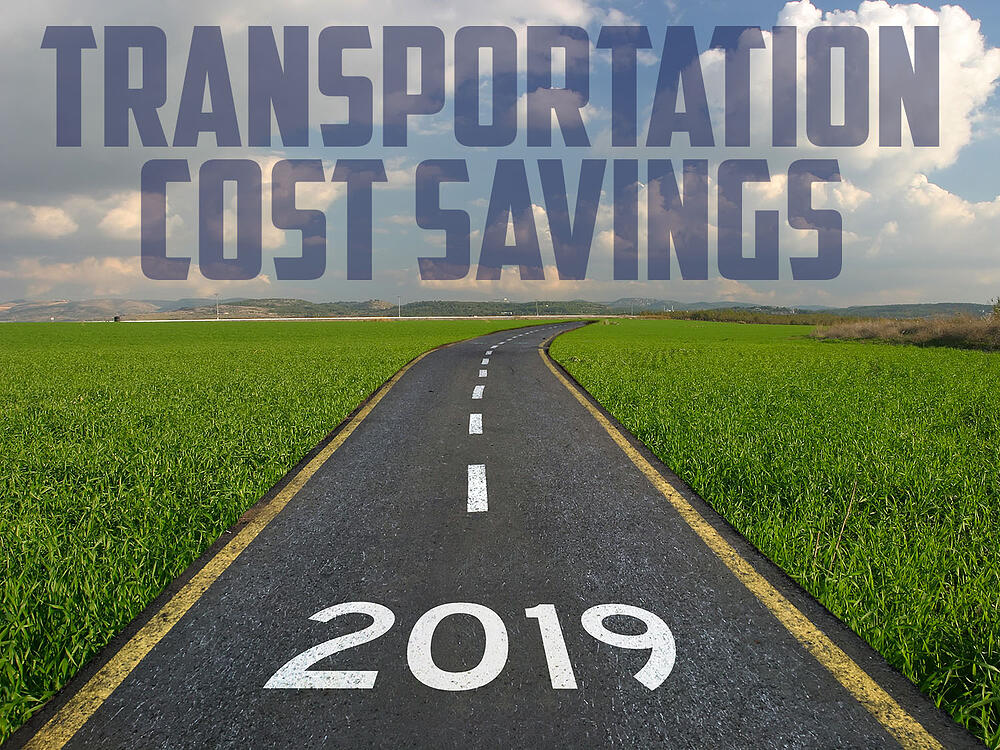Transportation Cost Savings